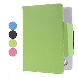 "ZCL 9.7"" Leechee Pattern Leather Laptop Sleeve Case(4 Colors) , Blue"
