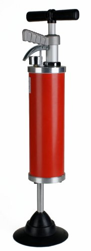 Steel Dragon Tools 95 High-Pressure Compressed Air Plunger Heavy-Duty Toilet Plunger for Drain Lines by Steel Dragon Tools (Image #1)