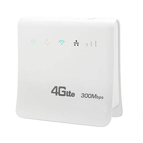 Ciyoon 2019 New 300 Mbps WiFi 4G Mobile WiFi Router Surport for SIM India/Bangladesh/Vietnam/Iran (Best Wifi Router India 2019)
