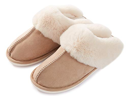 05 Pantofole Inverno Donna Outdoor Cachi Casa Autunno Da Morbida Scamosciate Interne Pavimento Indoor Memoria Schiuma 6qxrCH6U