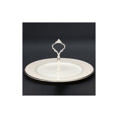 Tray Noritake China (Noritake Silver Palace Handled Hostess Tray)