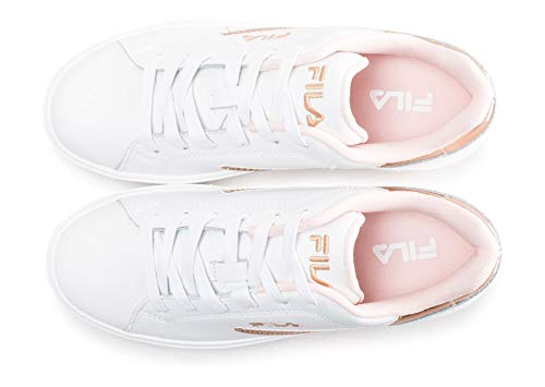 F Wmn Fila Sneaker Low Overstate White fIIEqw