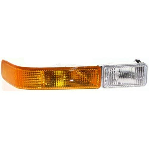 - Turn Signal Light Compatible with CHEVROLET BLAZER 1998-2005 RH Lens and Housing with Fog Lamp