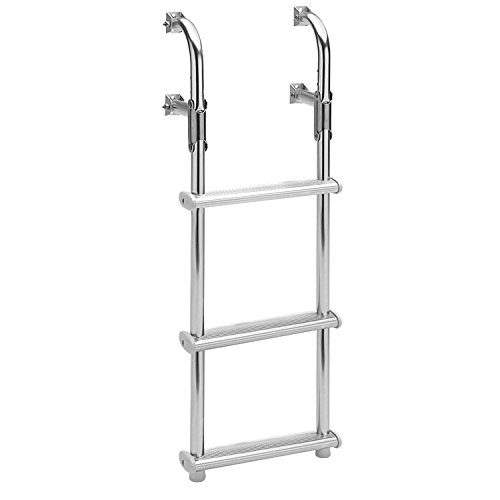 Garelick/EEz-In 18018:01 Marine Compact Transom Ladder – 3 Step by Garelick/EEz-In