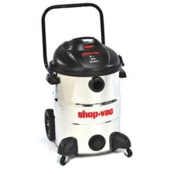 Stainless Steel Vacuum, 16 Gallon, 6.5 Peak HP, 18' Power Cord, 210 CFM, 390 Air Watts, Weight 43 lb Tools Equipment Hand Tools Review