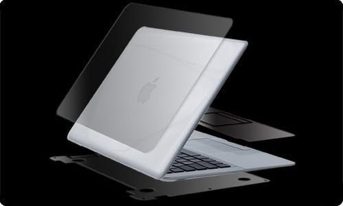 Zagg Invisibleshield Notebook - ZAGG invisible Shield MacBook 13-Inch Air 1G/2G, Full Body (APLMBAF)