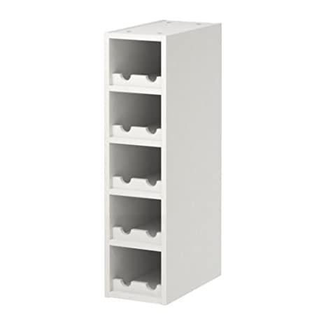 Amazon.com: IKEA PERFEKT - Wine shelf, off-white - 20x70 cm ...