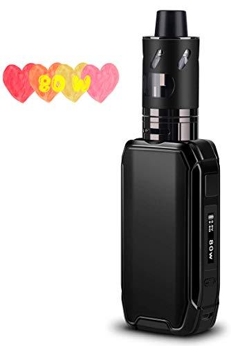 E Zigarette Starter Set, FREDEST E Zigarette Shisha Starter Set 80W Box Mod mit 2500mAh Eingebaute Batterie 0.5 Ohm/ 2…