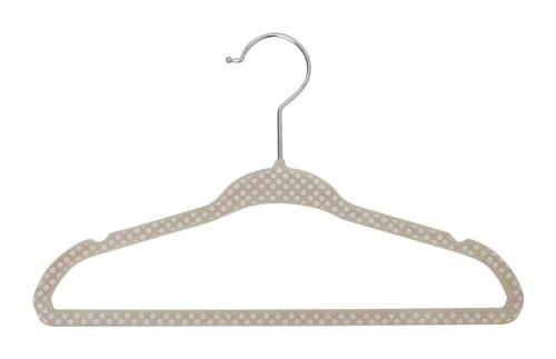 Velvet Hanger, Beige, 30 Count ()