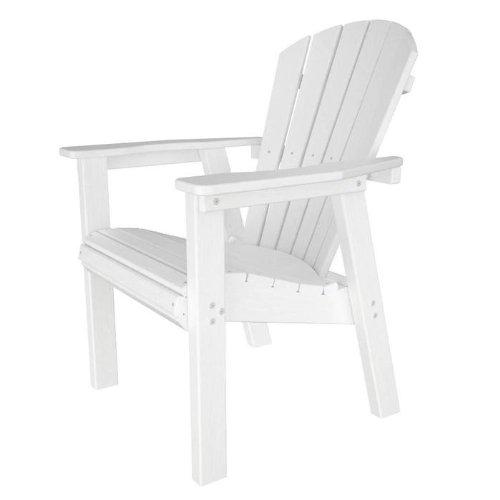 (Seashell Adirondack Chair Finish: Slate Grey)