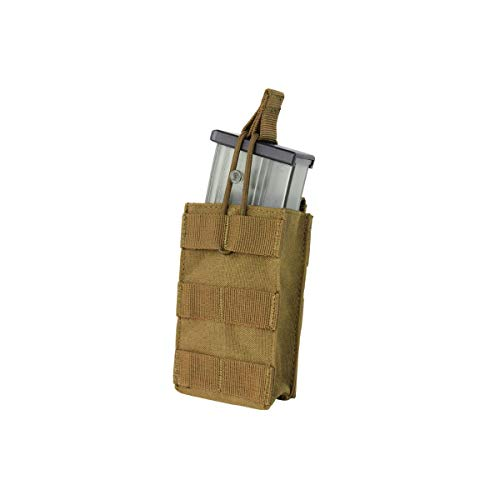 (CONDOR Single Open Top G36 Rifle Magazine Mag Pouch 191129 (Coyote Brown))