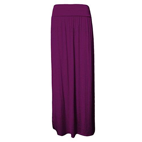 REAL LIFE FASHION LTD - Falda - plisado - para mujer morado