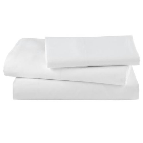 EOM Linens White XL Twin Size Flat Sheets Size 66