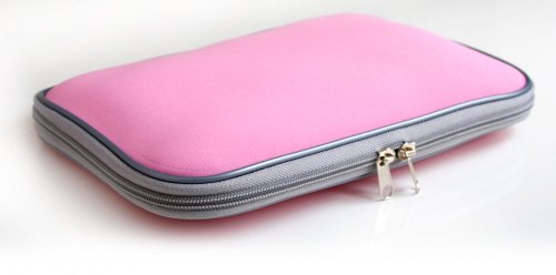 - DURAGADGET 10/11 inch Pink Water resistant laptop/notebook / netbook/UMPC carry case/bag / sleeve for Lenovo S10e Atom N270 1GB 160GB XP Home Pink