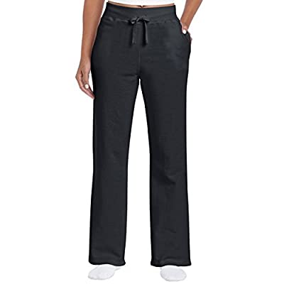 Gildan Women's Open Bottom Sweatpants at Women's Clothing store