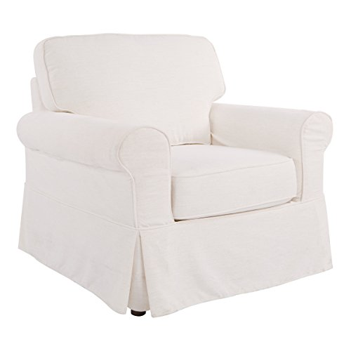 OSP Designs Ashton Chair, Ivory