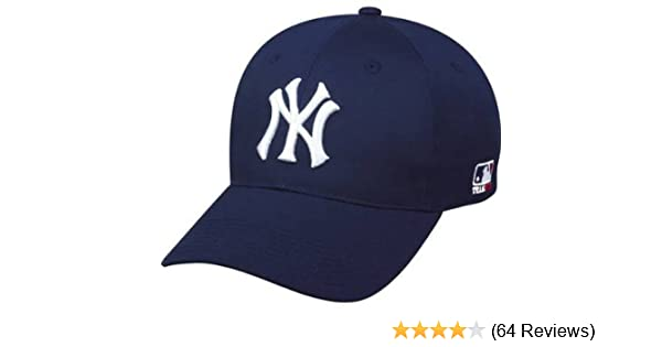 huge discount 3d55e 8165c ... purchase amazon new york yankees adult adjustable hat mlb officially  licensed major league baseball replica ball