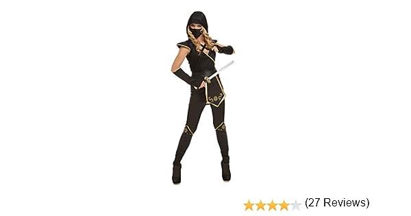 My Other Me Me-204895 Disfraz de ninja para mujer, color negro, S ...