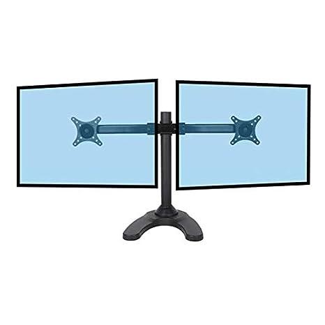 KIMEX 015-1412 Soporte de mesa para 2 TV/ Monitores 13