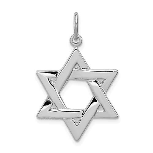 - 925 Sterling Silver Jewish Jewelry Star Of David Pendant Charm Necklace Religious Judaica Fine Jewelry For Women Gift Set