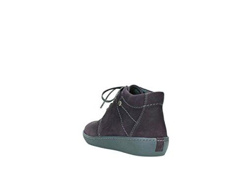 08126 50600 Babylon Womens Purple Boots Leather Oiled Wolky Nubuck wnBTq5xdB