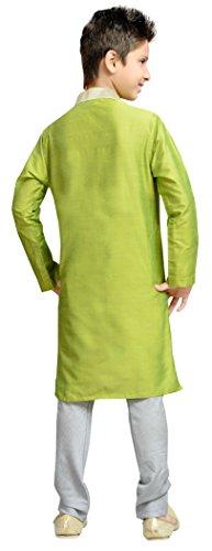 Cellora Churidar Kurta Pajama for 1-14 Years Kids Dupion Silk Party Wear Ethnic Dress by Cellora (Image #1)