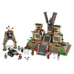 LEGO Indiana Jones Temple of the Crystal Skull (Indiana Jones Crystal Temple)