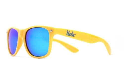 NCAA UCLA Bruins -2 Frame Blue Lens Sunglasses, One Size, (Ucla Glass)