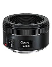 Canon EF 50 mm f/1.8 STM lens, Oordopjes, zwart, 6 cm