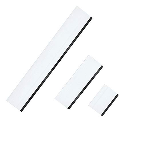 - GUGUGI 3 in 1 Rubber Squeegee Car Vinyl Wrap Squeegee Car Water Blade Ideal for Countertops, Door, Shower Mirror and Car Window Cleaning