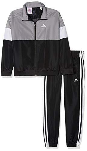 Ch Blanco Survêtement gris Ts Gritre blanc negro Yb Wv Noir Enfants Adidas qax4ftnPI