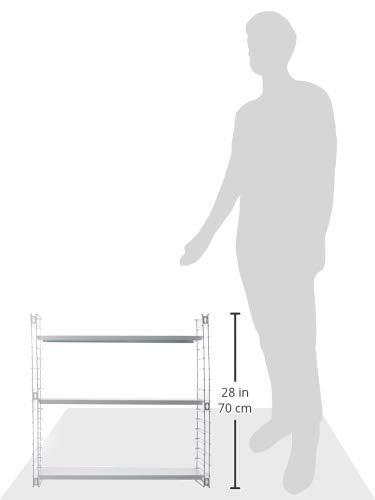 Tomado Zeitloses und modulares Wandregal 70x21x68 cm