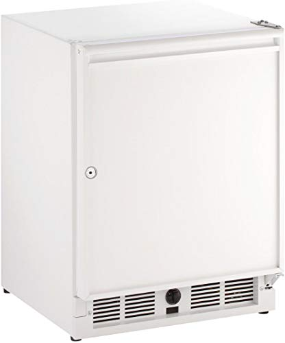 (U-Line U29RW13A 21 Inch Freestanding Counter Depth Compact Refrigerator with 3.3 cu.ft. Capacity in White)