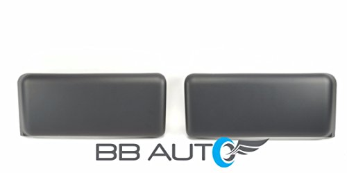 Bumper Guard Inserts - NEW 2009-2014 FORD F150 Truck Front Bumper Guards Inserts Pads Caps BLack Pair RH & LH SET