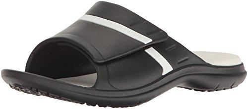 Crocs Modi Sport, Sandalias Flip-Flop Unisex Adulto blanco/negro