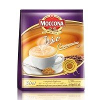 Moccona, Trio, 3 in 1 Instant Coffee, Cappuccino, net weight 300 g (Pack of 1 piece) / Beststore by KK