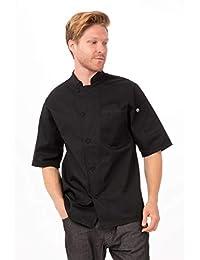 Chef Works Men's Valais Short Sleeve Chef Coat (VSSS)