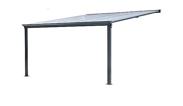 BST Outdoor Essentials - Cubierta para pérgola de Aluminio para Exteriores, 3 x 3, 10 m, Estructura Robusta para Uso Pesado: Amazon.es: Jardín