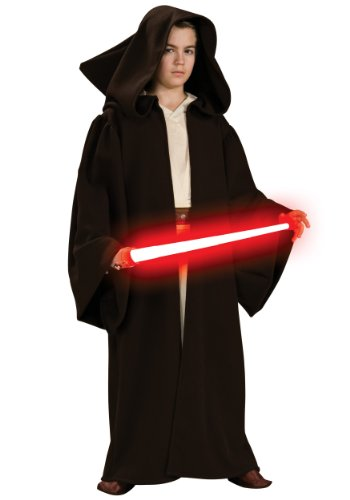 Star Wars Deluxe Sith Robe Child Costumes (Deluxe Hooded Sith Robe Child Costume - Medium)
