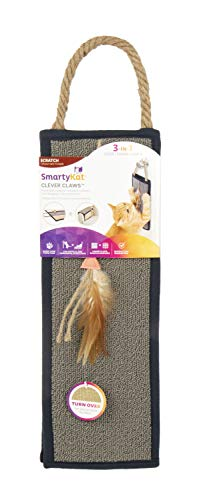 SmartyKat Clever Claws Hanging Or Mat Cat Scratcher