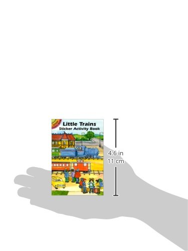 Little Trains Sticker Activity Book (Dover Little Activity Books Stickers)