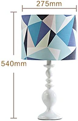 1. Table Lamp Geometric Triangle Bedroom Living Room Children Bedside Lamp 2.