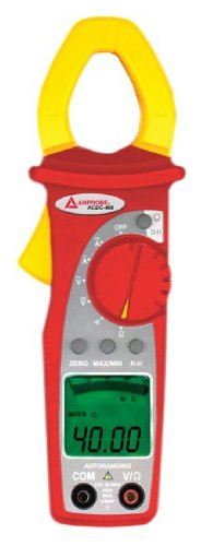 Amprobe ACDC-400 TRMS Digital Clamp Multimeter 400A AC/DC with VolTect Non-Contact Voltage Detection (400a Memory)