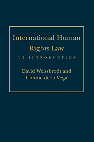 International Human Rights Law: An Introduction (Pennsylvania Studies in Human Rights)