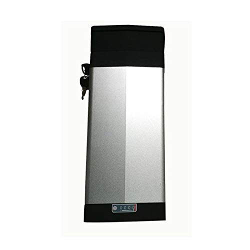 akonasda 48V 20AH Sliver E-Bike Battery Samsung Cell 1000W EBike Li-ion Battery+Double Layer Luggage Rack 10AH 18AH 20AH 25AH