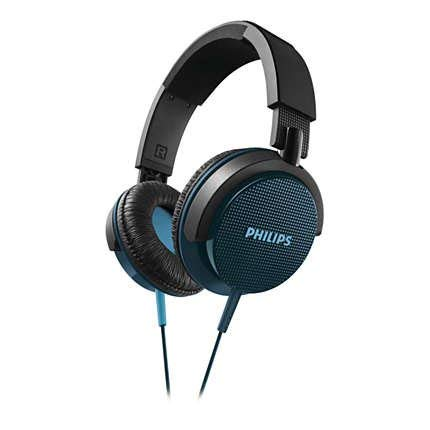(Philips DJ Premium Noise-Canceling Lightweight Extra Bass Stereo Headphones)