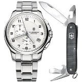 Victorinox Swiss Army Officers Chronograph with Knife Men's Watch - V241554.1