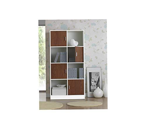 Deluxe Walnut Cube - Bаxtоn Studiо Deluxe Premium Collection Chateau Bookcase Decor Comfy Living Furniture