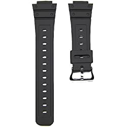 16mm Replacement Black Watch Band Strap fits Casio G Shock DW-5600E, DW-5700 & More