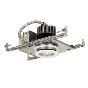 Jesco Lighting RLH-3511N-IC-30 Accessory - 3.5'' Aperture Ic Airtight New Construction, Silver Finish